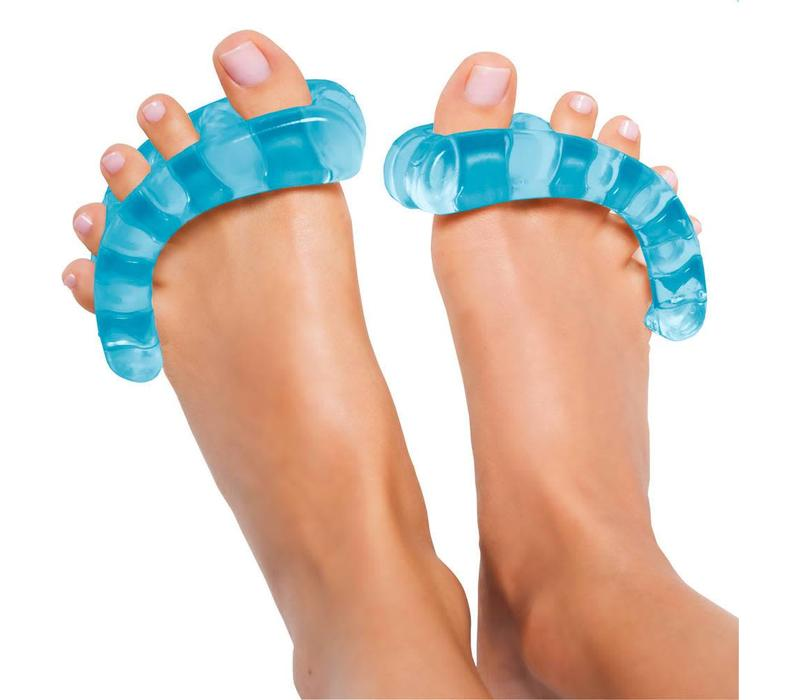 YogaToes Teenspreiders - Lichtblauw