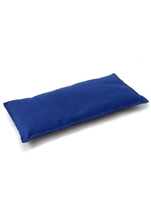 Lotus Design Meditation Bench Cushion - Blue
