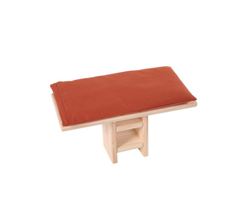 Meditation Bench Cushion - Yellow