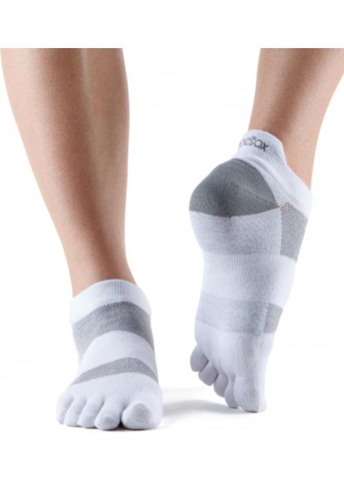 Toesox Toesox Sport Socks Lolo - White
