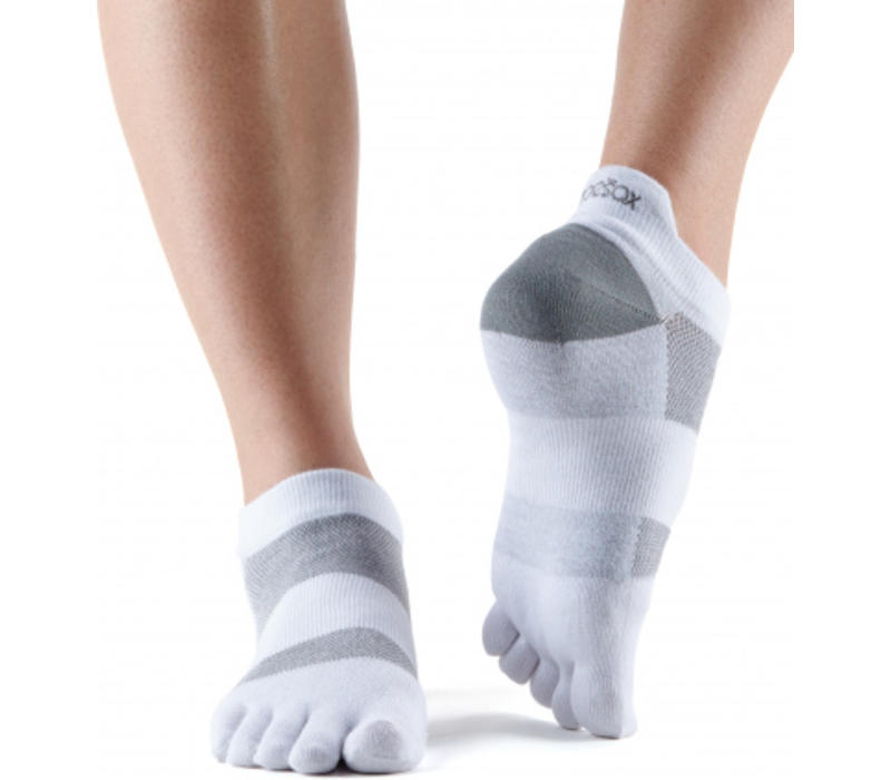 Toesox Sport Socks Lolo - White