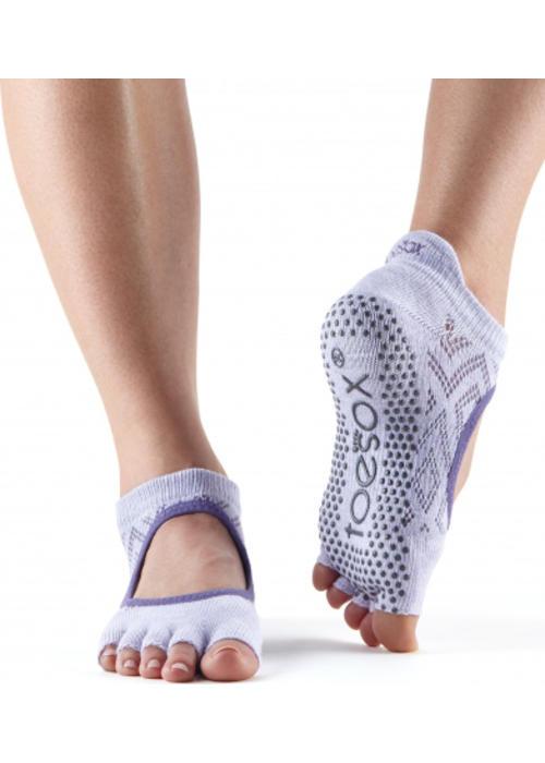 Toesox Toesox Yoga Sokken Bellarina Open Tenen - Diamond Lotus