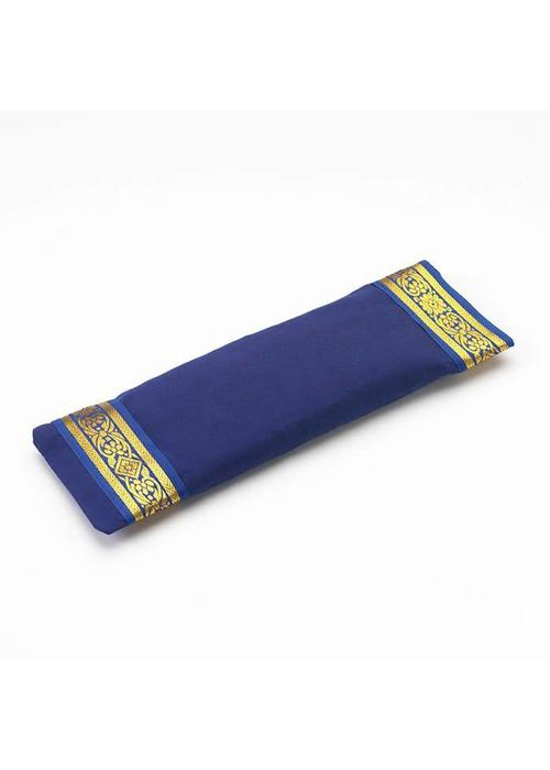 Yogamatters Eye Pillow Golden Details - Dark Blue