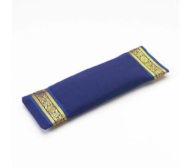 Oogkussentje Gouden Rand - Donkerblauw