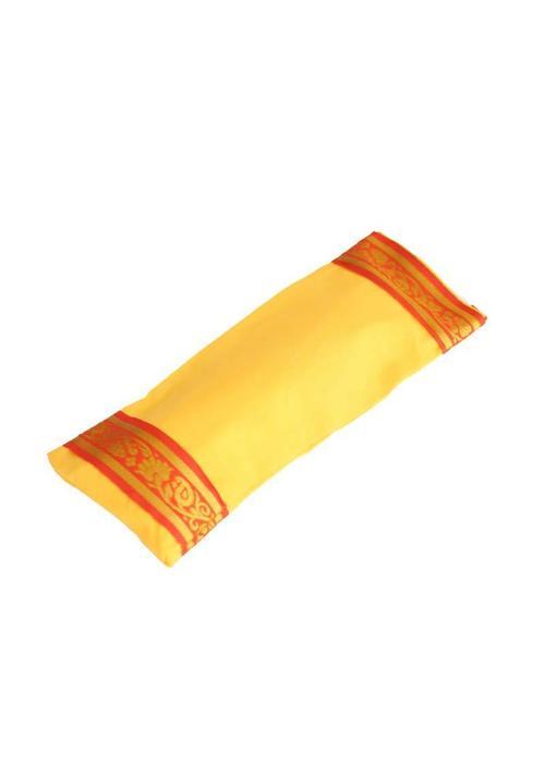Yogamatters Oogkussentje Gouden Rand - Geel