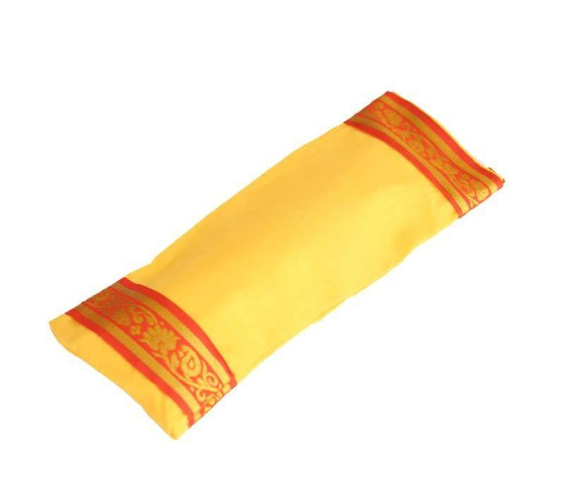 Augenkissen Goldener Rand - Gelb