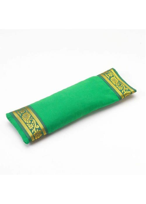 Yogamatters Eye Pillow Golden Details - Green
