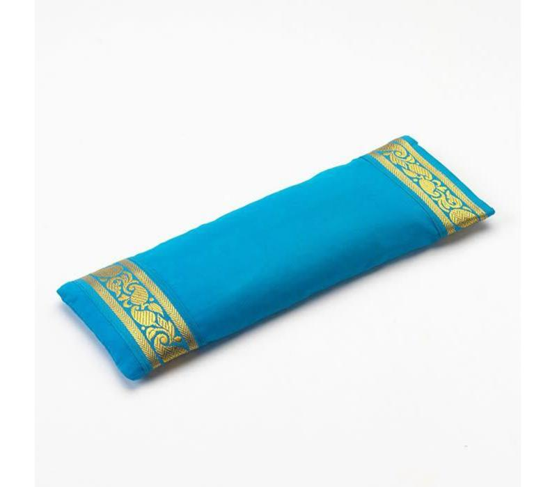 Eye Pillow Golden Details - Sky Blue