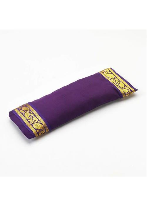 Yogamatters Eye Pillow Golden Details - Purple