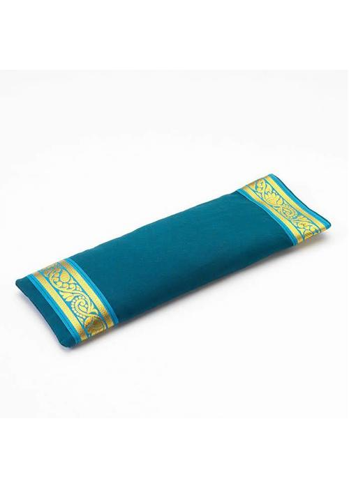 Yogamatters Eye Pillow Golden Details - Petrol