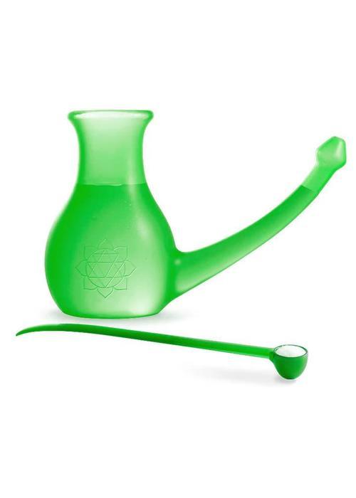 Yogamad Neti Pot Nosebuddy - Groen