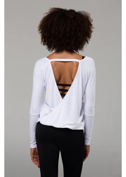 Onzie Onzie Drapey V-Back - White