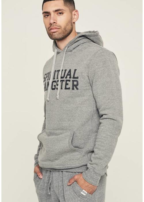 Spiritual Gangster Spiritual Gangster Men's Varsity Hoodie - Heather Grey