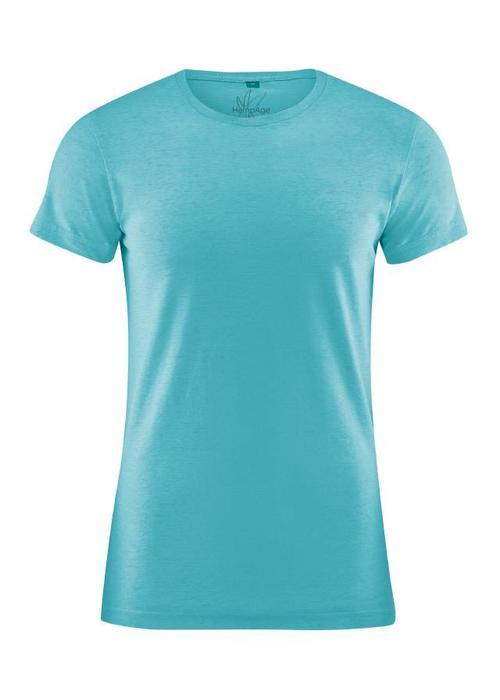 HempAge HempAge Slim Fit T-Shirt - Turquoise