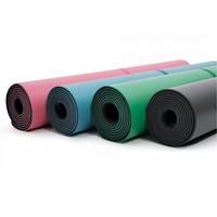 Liforme Yogamatte 185cm 68cm 4.2mm - Grau