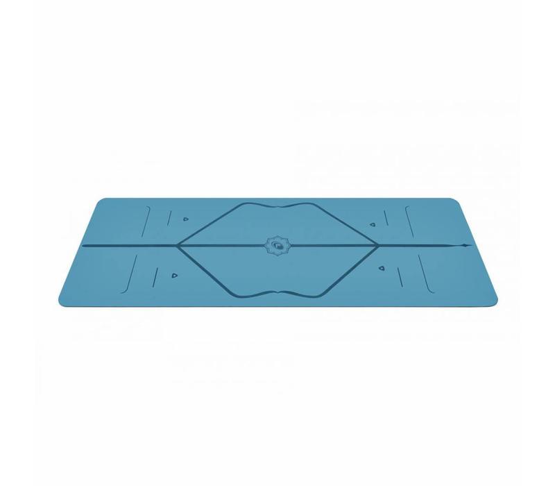 Liforme Reise Yogamatte 180cm 66cm 2mm - Blau