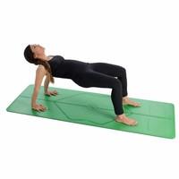 Liform Travel Yoga Mat 180cm 66cm 2mm - Green