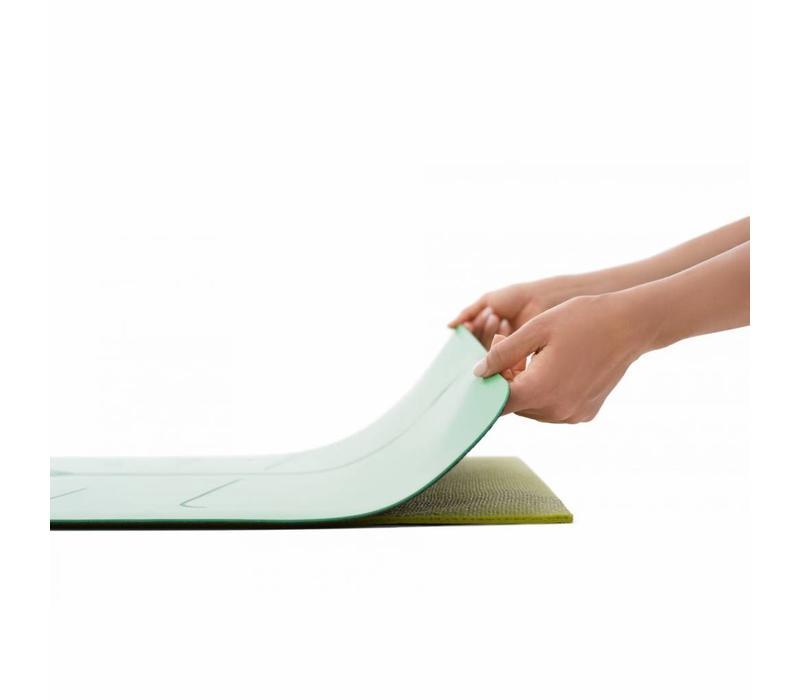 Liforme Reise Yogamatte 180cm 66cm 2mm - Grau
