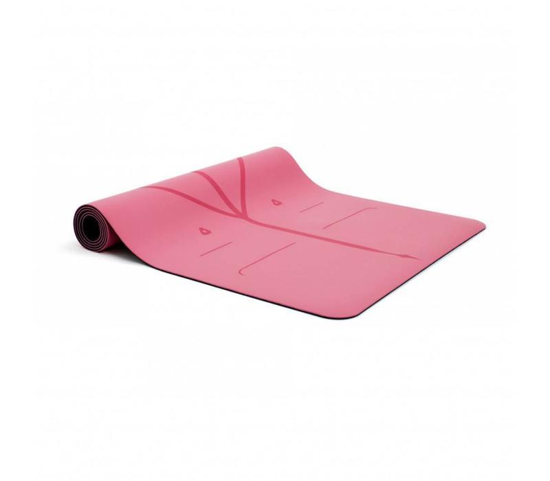 Liforme Travel Yogamat 180cm 66cm 2mm - Pink