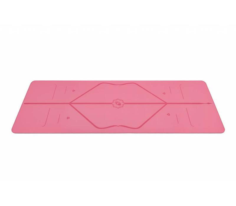 Liforme Reise Yogamatte 180cm 66cm 2mm - Pink