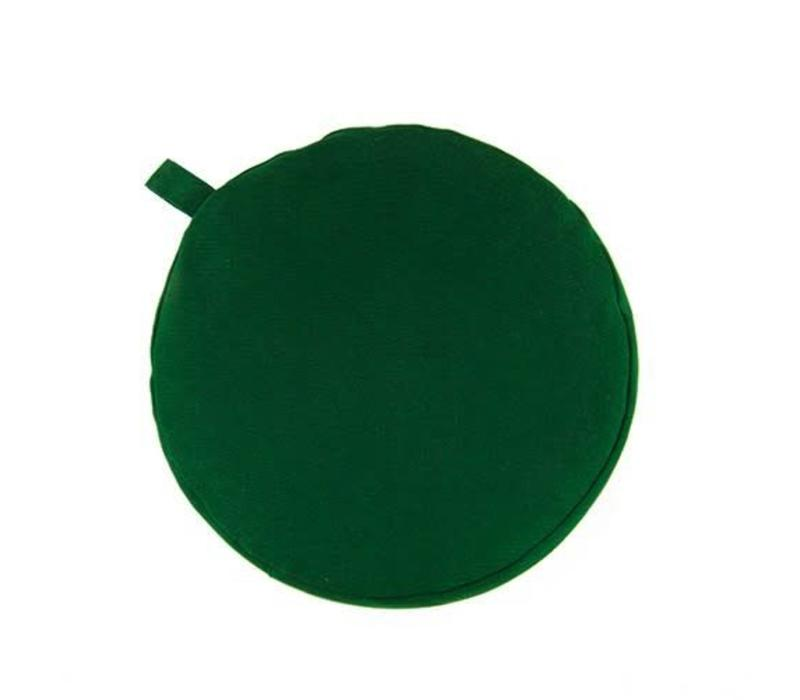 Meditation Cushion 13cm High - Green