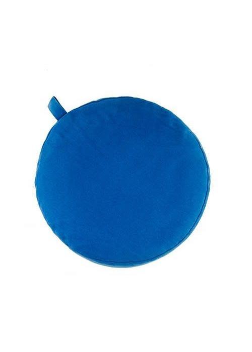Yogisha Meditation Cushion 13cm high - Light Blue