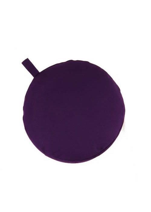 Yogisha Meditation Cushion 13cm high - Purple