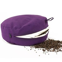 Meditation Cushion 13cm high - Purple