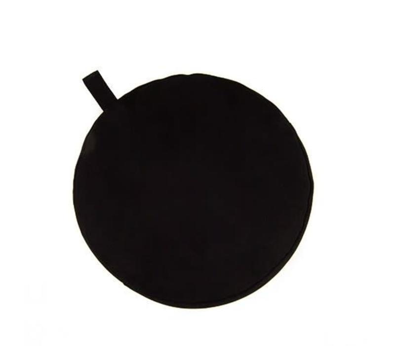 Meditatiekussen 13cm hoog - Zwart