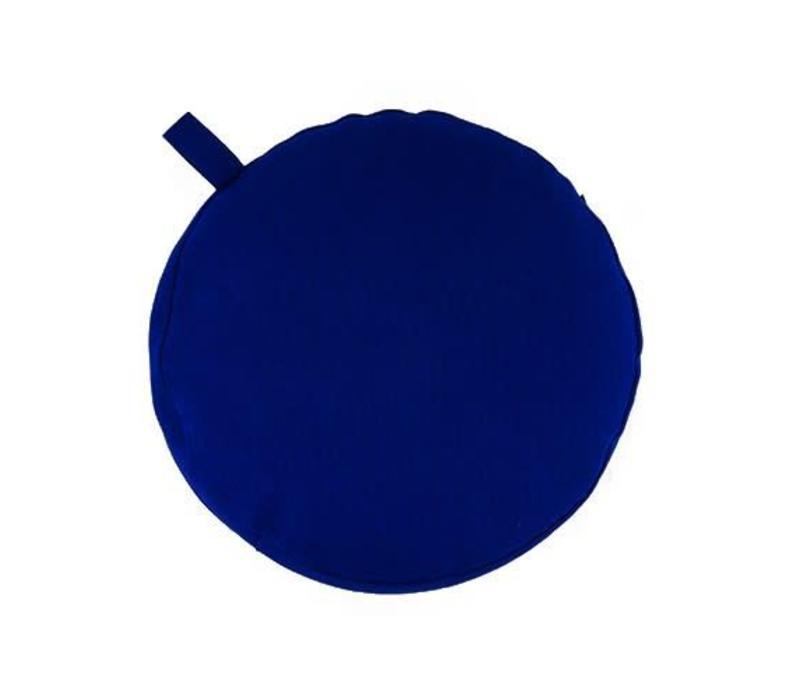 Meditatiekussen 17cm hoog - Donkerblauw