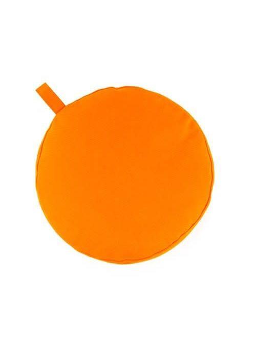 Yogisha Meditation Cushion 17cm high - Orange