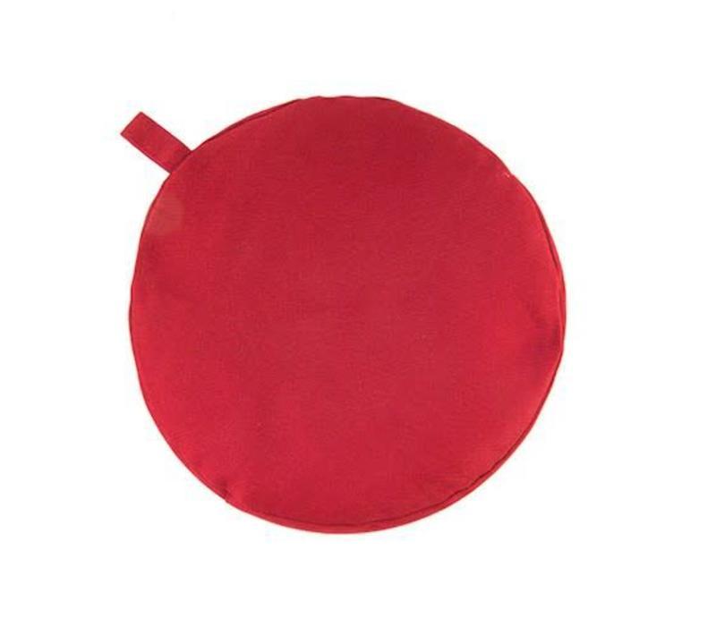 Meditation Cushion 17cm high - Red