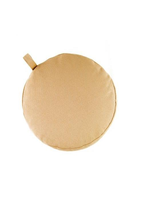 Yogisha Meditation Cushion 9cm high - Beige