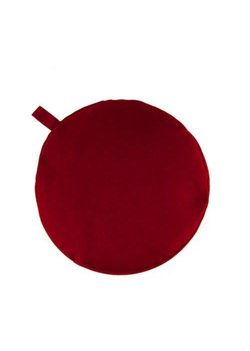 Yogisha Meditation Cushion 9cm high - Burgundy