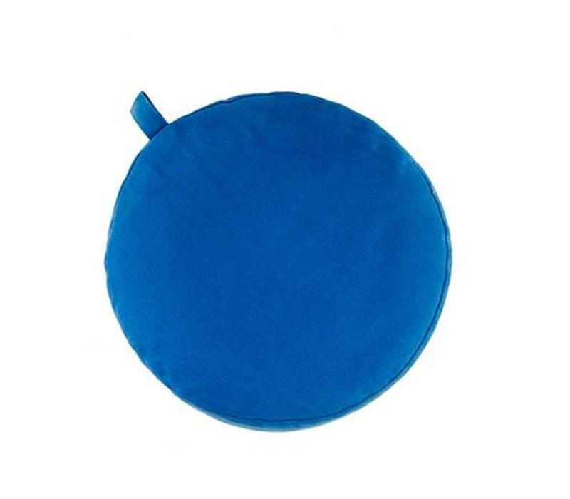 Meditation Cushion 9cm high - Light Blue
