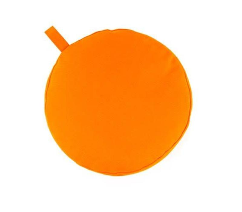 Meditation Cushion 9cm high - Orange