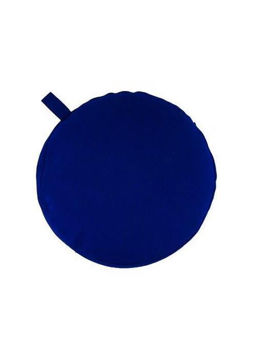 Yogisha Meditatiekussen 5cm hoog - Donkerblauw