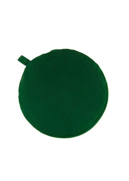 Yogisha Meditationskissen 5cm hoch - Grün