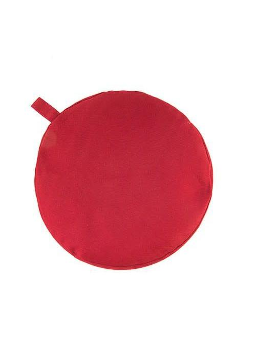 Yogisha Meditatiekussen 5cm hoog - Rood