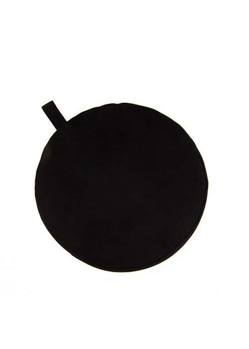 Yogisha Meditatiekussen 5cm hoog - Zwart
