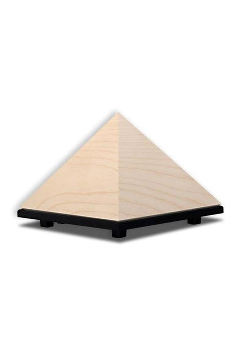 Creatime Pyramid Meditation Timer - Sycamore Wood
