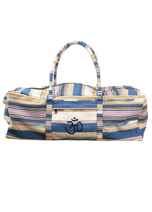 Yogamad Yogatasche Kit Bag Deluxe - Blue Stripes