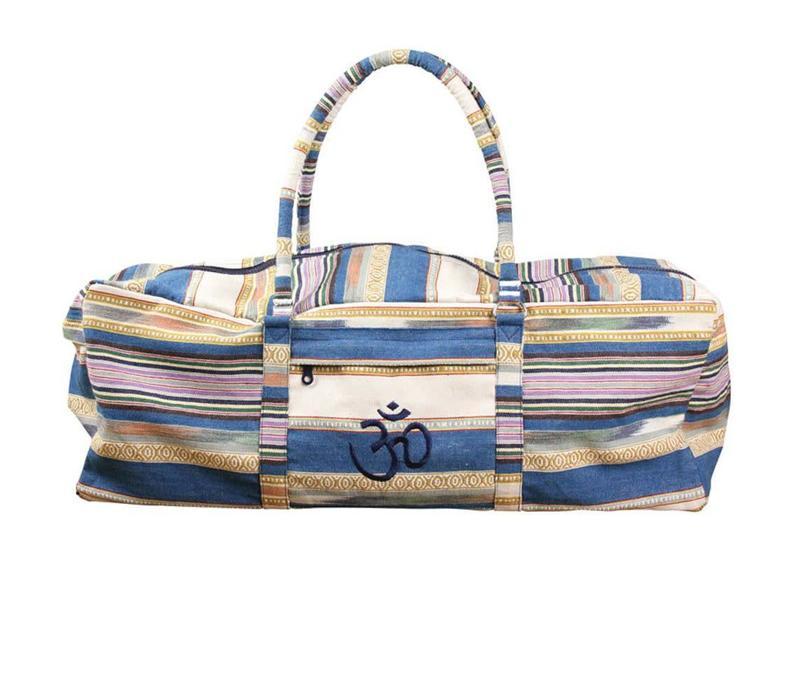 Yoga Kit Bag Deluxe - Blue Stripes