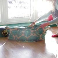 Yogatasche Kit Bag Deluxe - Grün