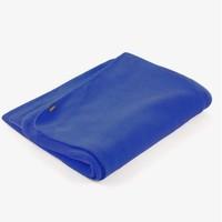 Yoga Blanket Fleece - Blue