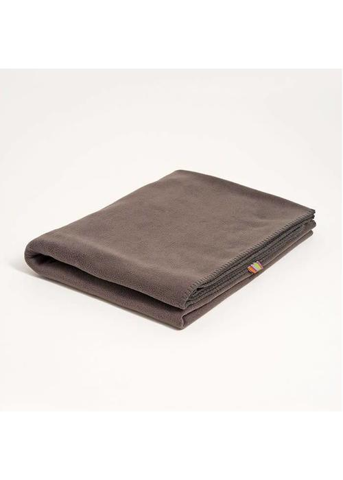 Yogamatters Yoga Blanket Fleece - Charcoal