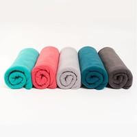 Yogadeken Fleece - Donkergrijs