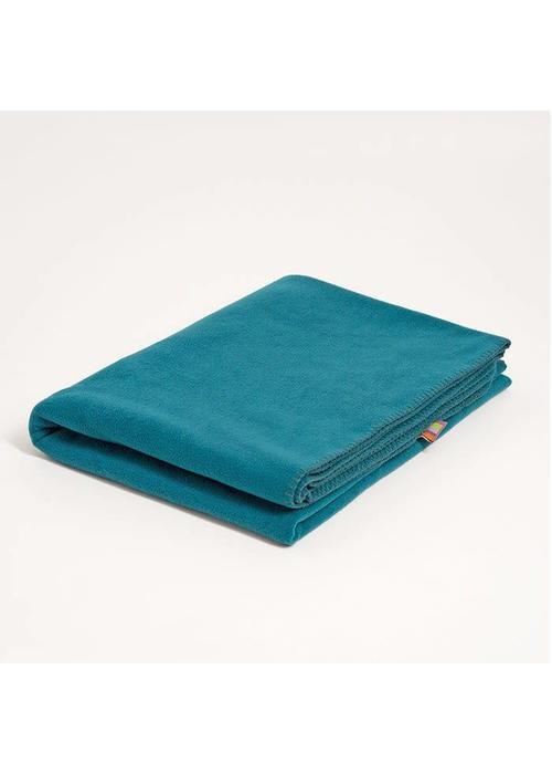 Yogamatters Yoga Blanket Fleece - Petrol