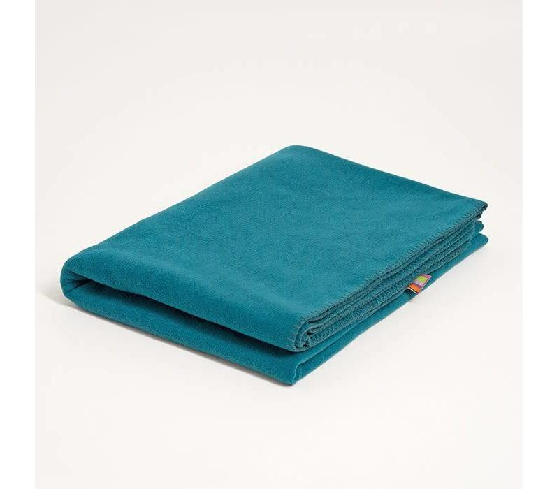 Yogadecke Fleece - Petrol