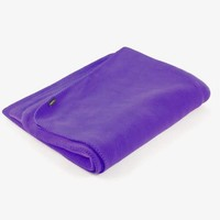 Yoga Blanket Fleece - Purple